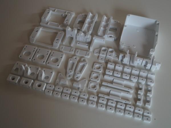 sparkcube v2.0L // Kunststoffteile Set