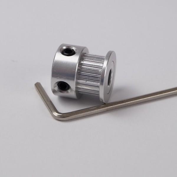 Zahnriemenrad GT2 20 Zähne 6mm Breite